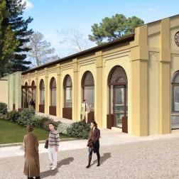 MPET Cirene _ Libia - Progetto per il restauro di un edificio adibito a biblioteca sito all'interno dell'area archeologica di Cirene.